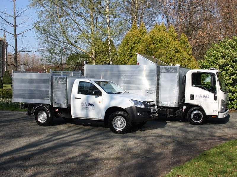 UAS Ltd take delivery of 1st bespoke arborist vehicles to support SPEN contract