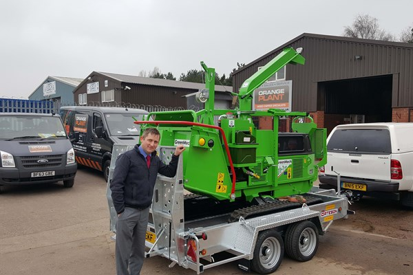 New Greenmech 1928 added to UAS fleet to support rail projects
